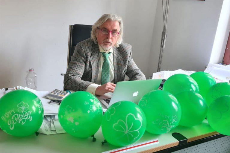 Happy St. Patrick's Day aus Berlin